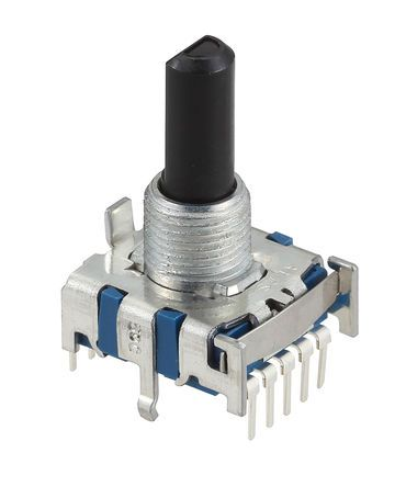 Alps Alpine , 4 Position SP4T Rotary Switch, 300 mA, PC Pin