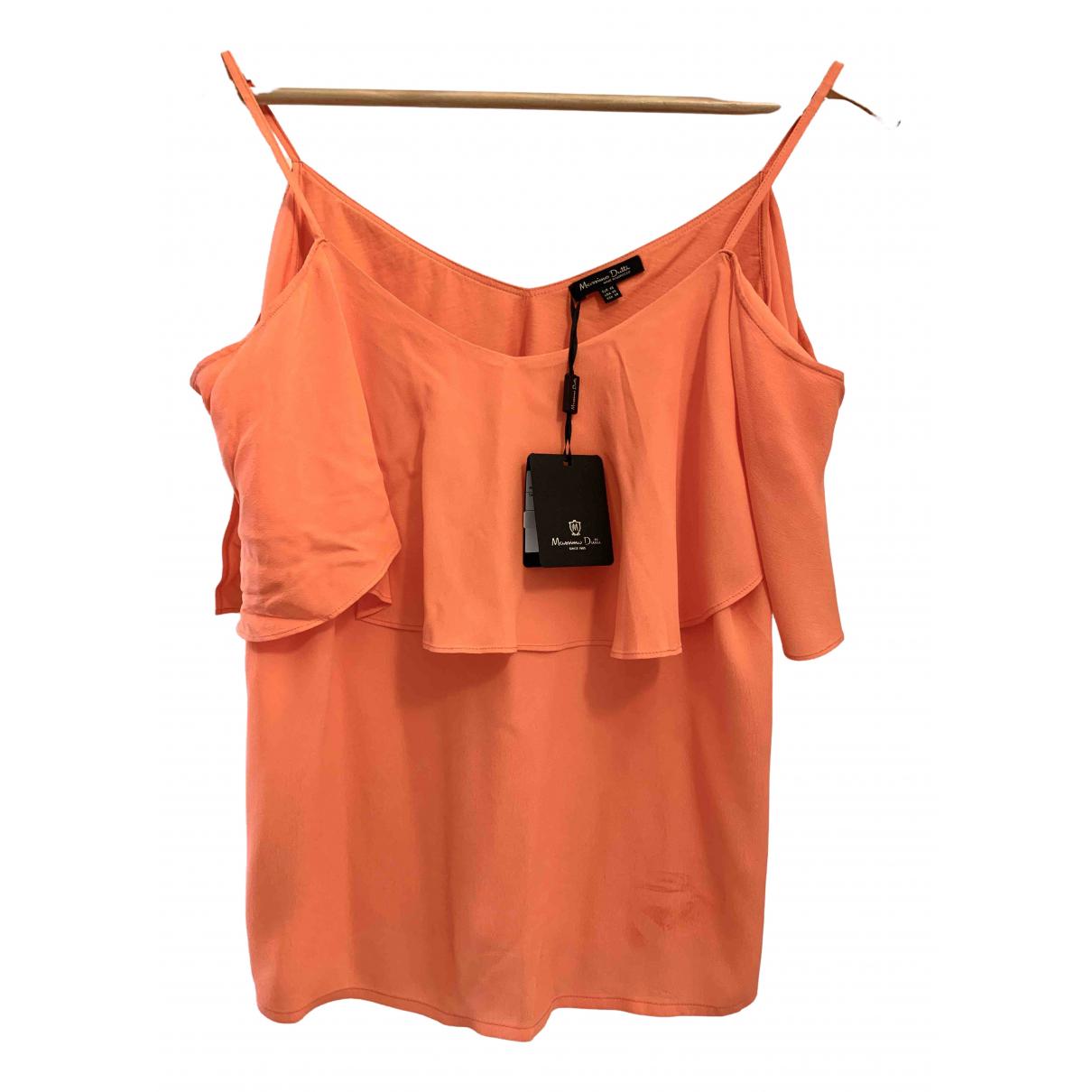 Massimo Dutti - Top   pour femme - orange