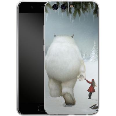 Huawei P10 Silikon Handyhuelle - Hopeless Wanderer von Dan May