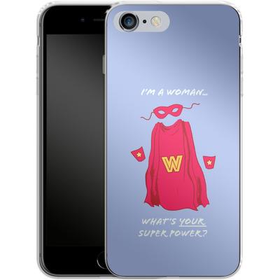 Apple iPhone 6s Plus Silikon Handyhuelle - Superpower von caseable Designs
