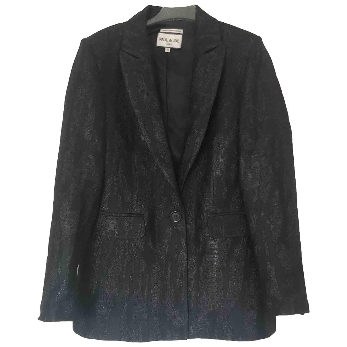 Paul & Joe \N Black jacket for Women 36 FR