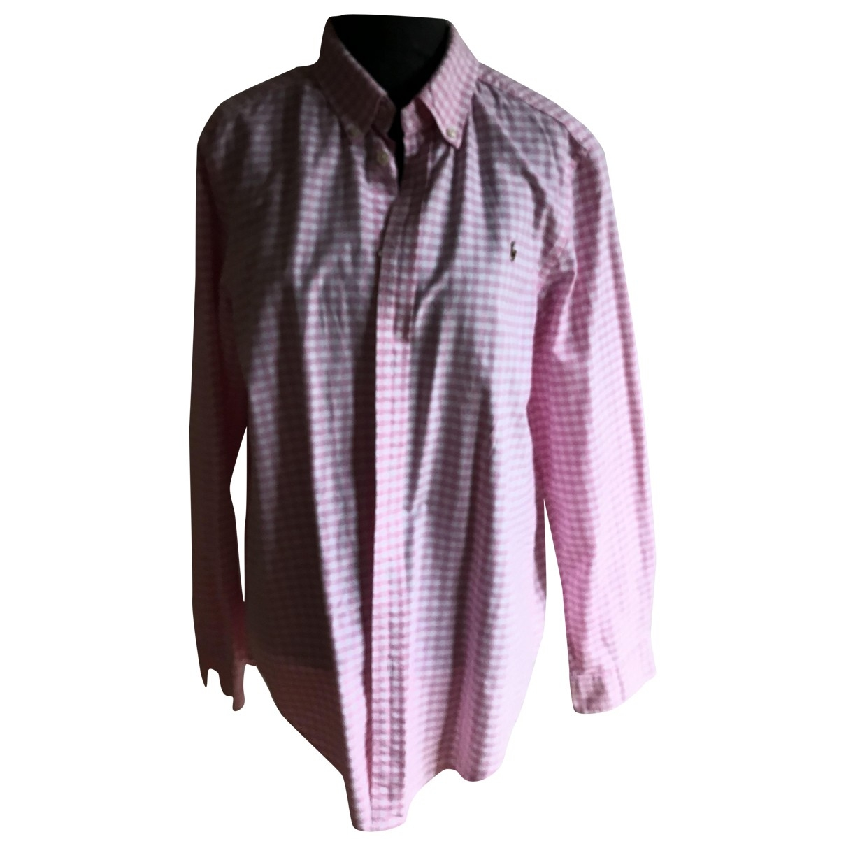 Ralph Lauren \N Pink Cotton Shirts for Men M International