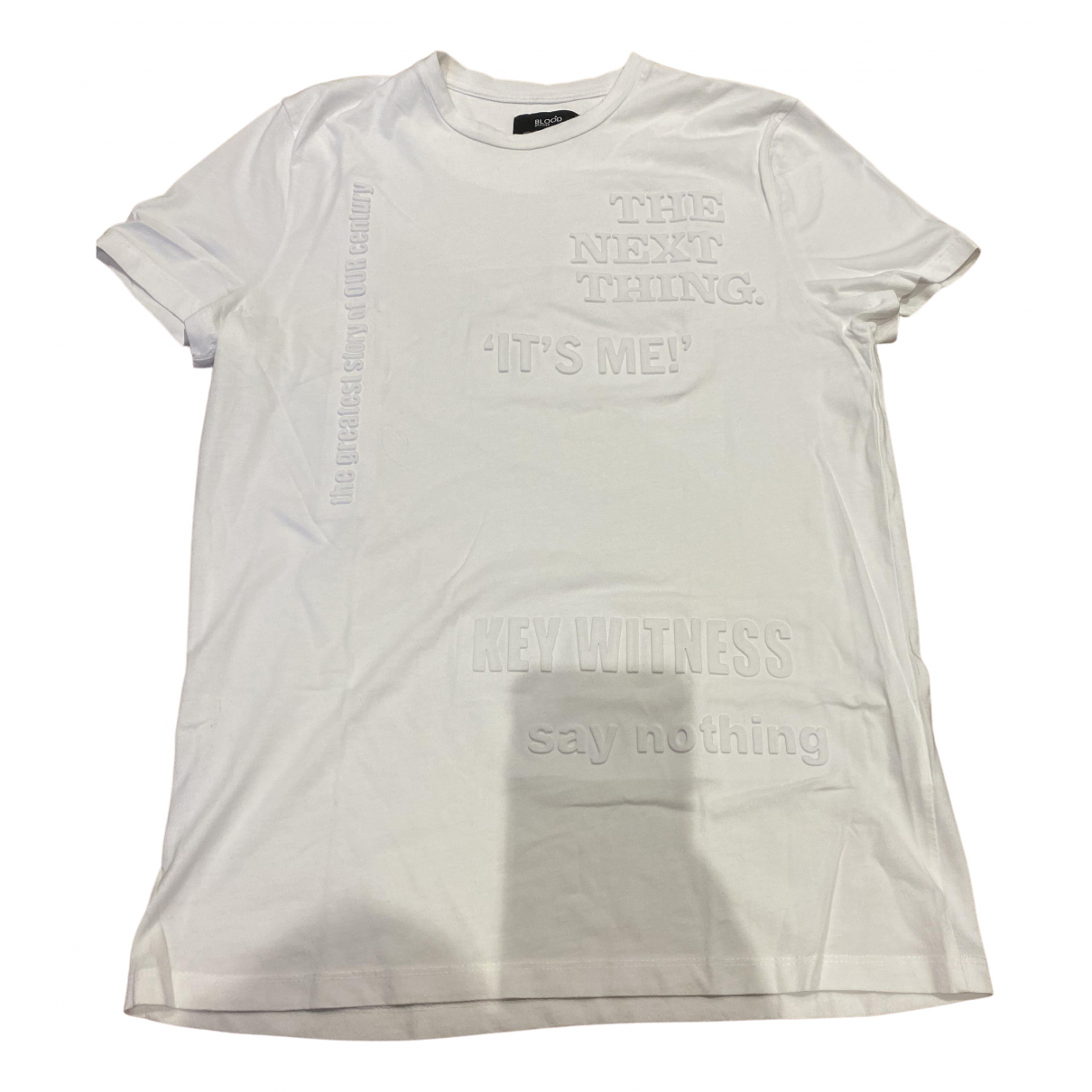 Blood Brother - Tee shirts   pour homme en coton - blanc