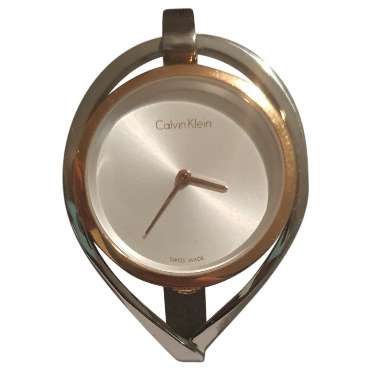 Calvin Klein \N Silver Steel watch for Women \N