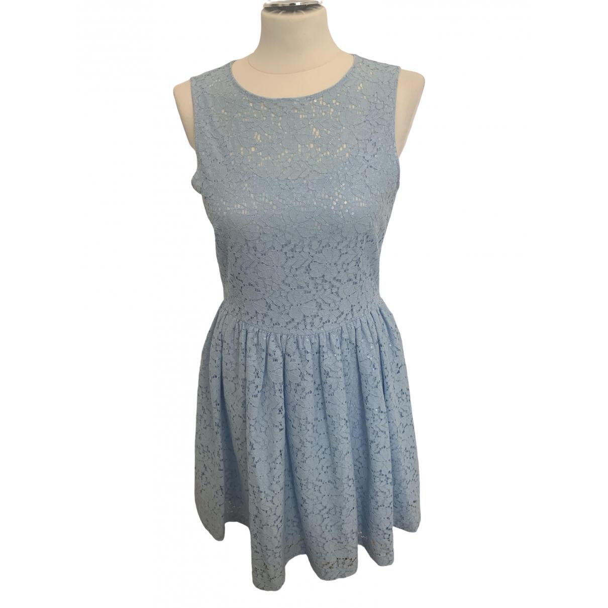 Blumarine \N Kleid in  Blau Baumwolle