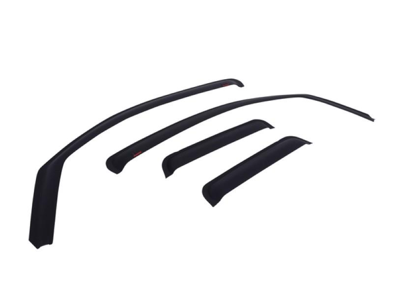 EGR 572655WB Matte Black In-Channel Style 4pc Window Visors Dodge Ram 1500 Quad Cab 2009-2019