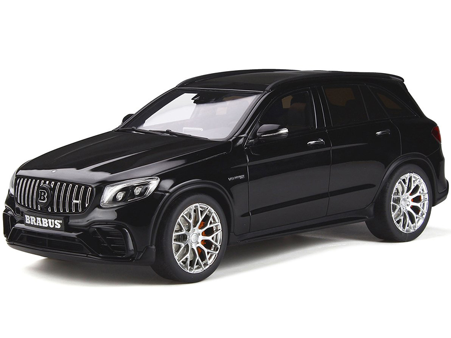 Mercedes AMG GLC 63 S Brabus 600 Black 1/18 Model Car by GT Spirit