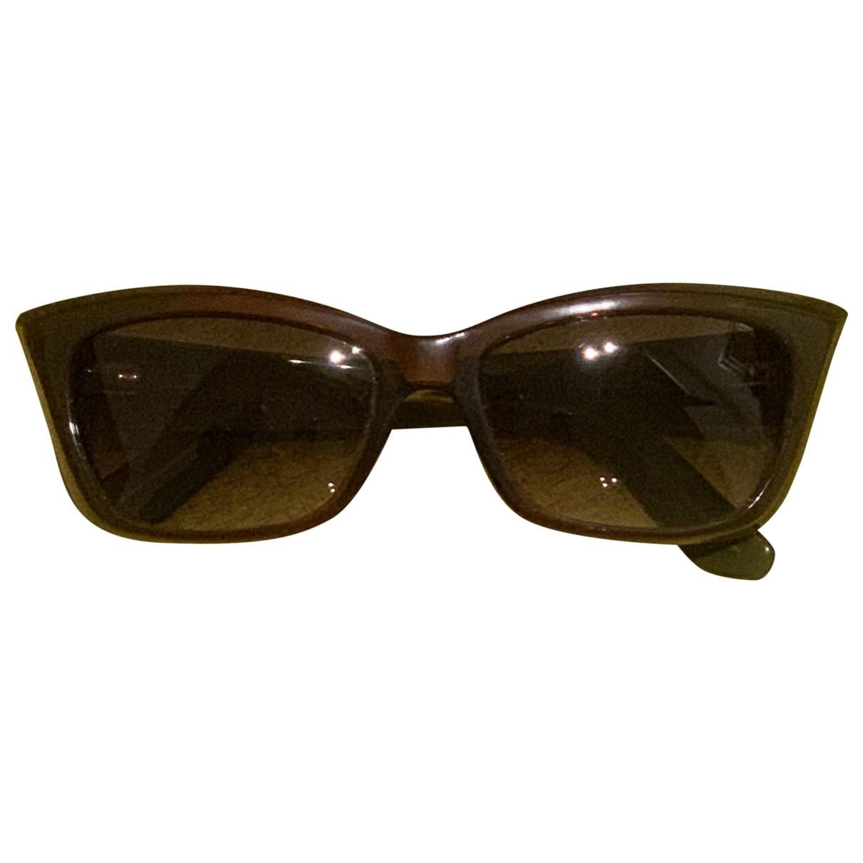Yves Saint Laurent \N Sonnenbrillen in  Braun Kunststoff