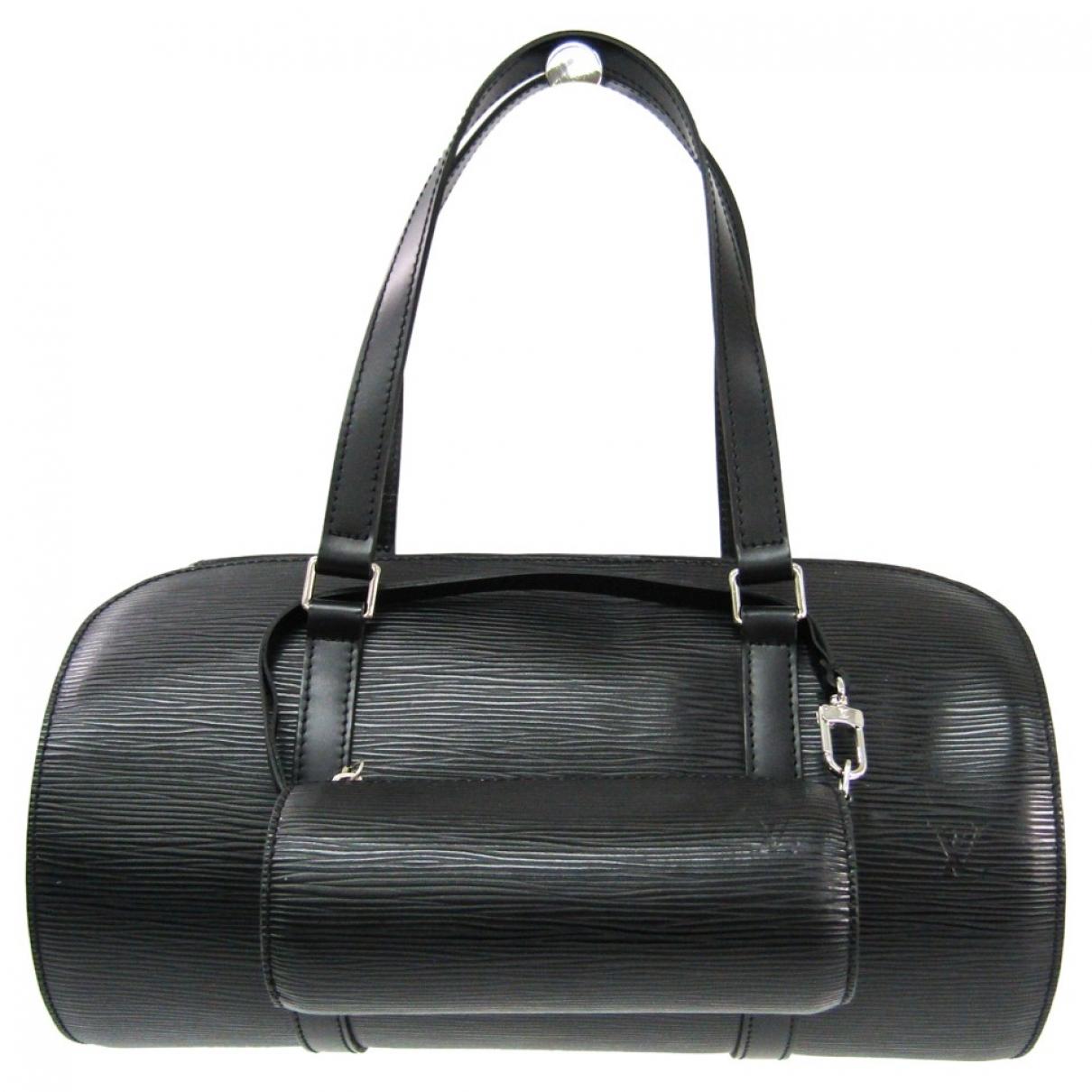 Louis Vuitton Papillon Black Leather handbag for Women \N