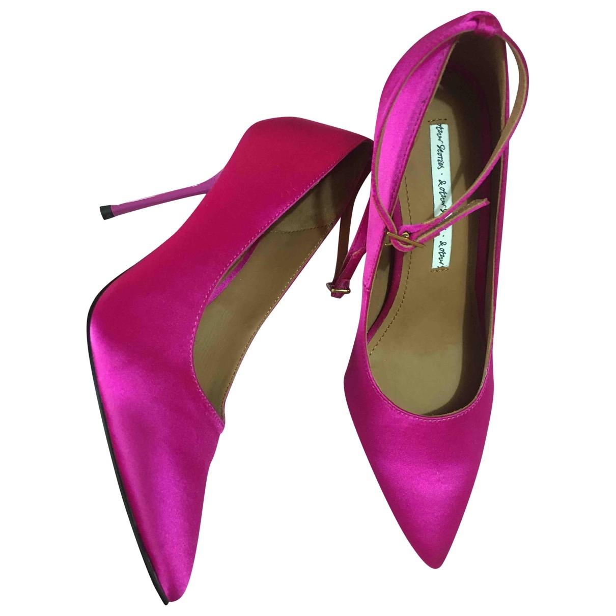 & Other Stories - Escarpins   pour femme en toile - violet