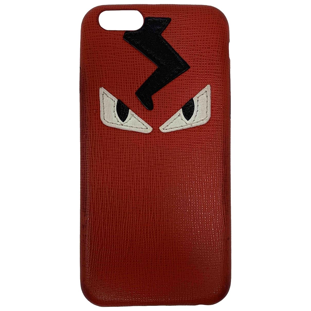 Fendi - Accessoires   pour lifestyle en cuir - rouge