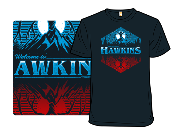 Hawkins 1983 T Shirt