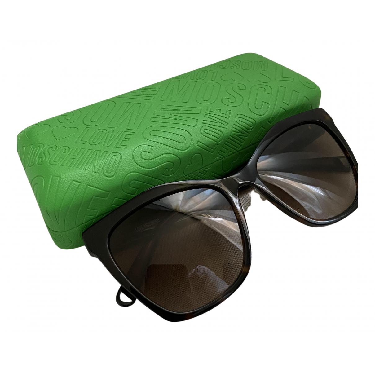 Moschino Love \N Sonnenbrillen Braun