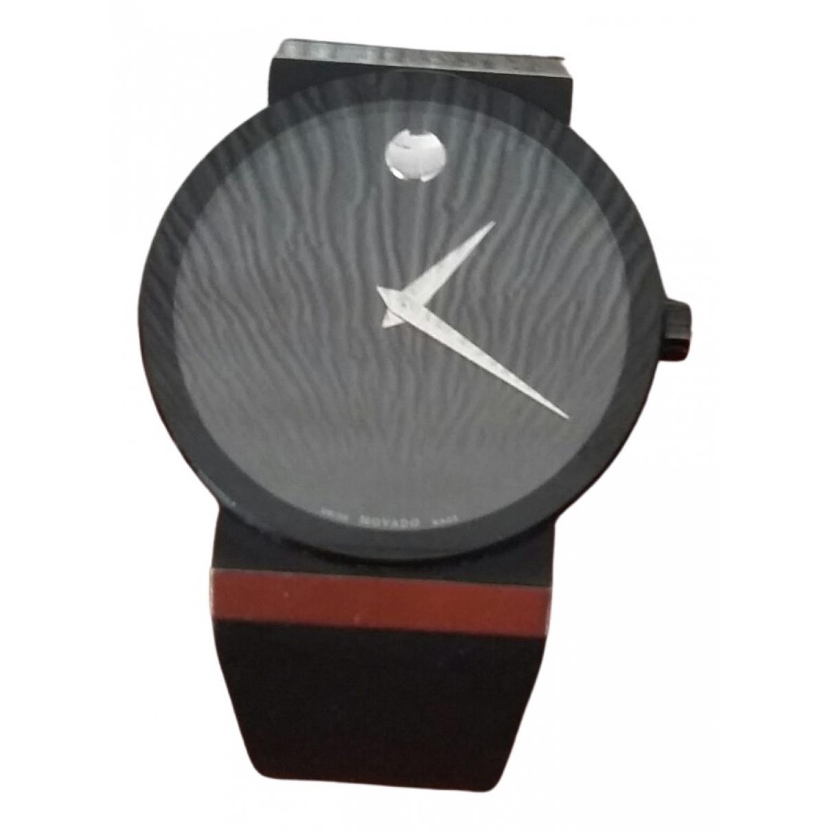 Movado \N Black Ceramic watch for Men \N