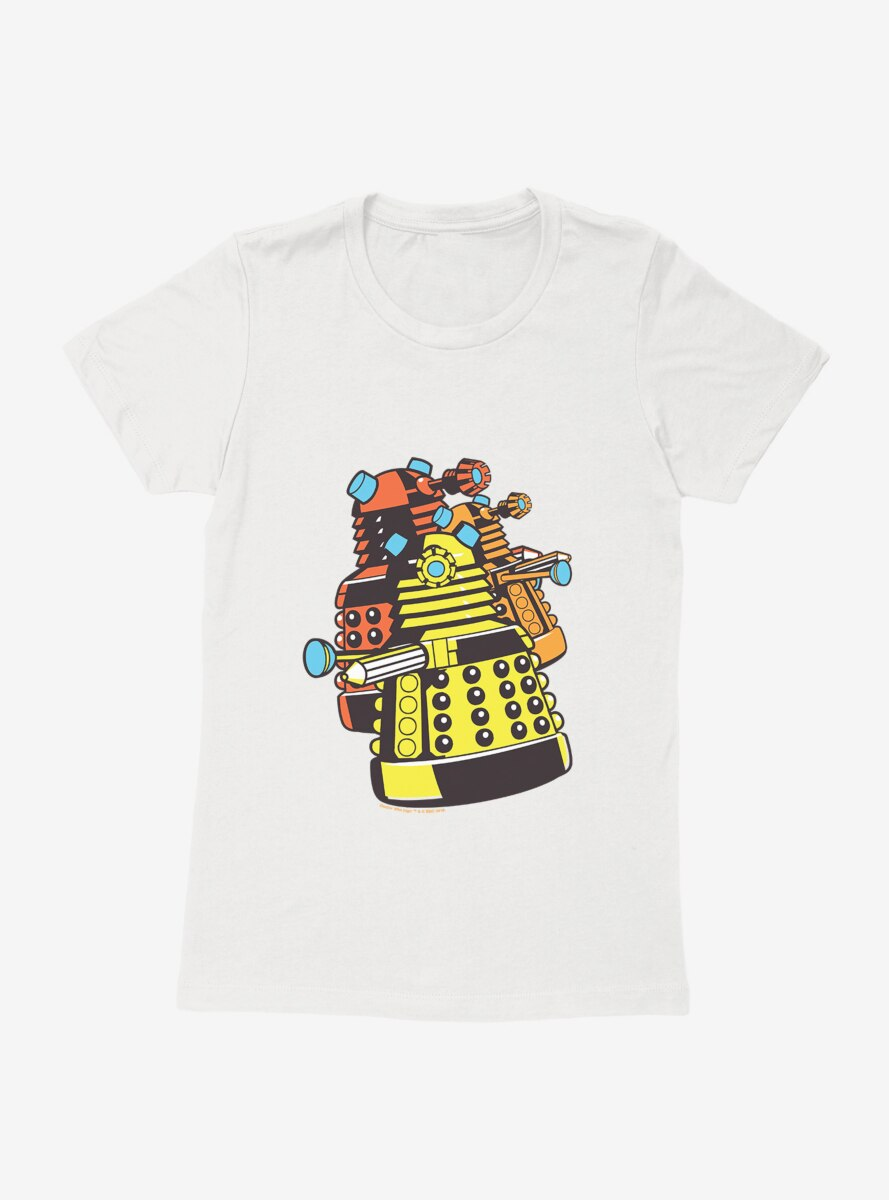 Doctor Who Dalek Gang Womens T-Shirt