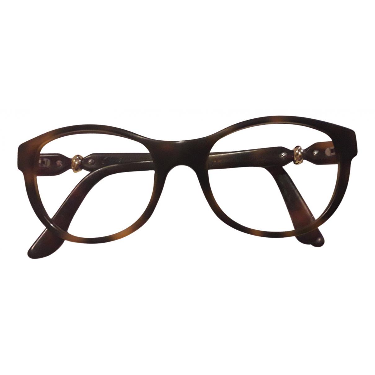 Cartier N Brown Sunglasses for Women N