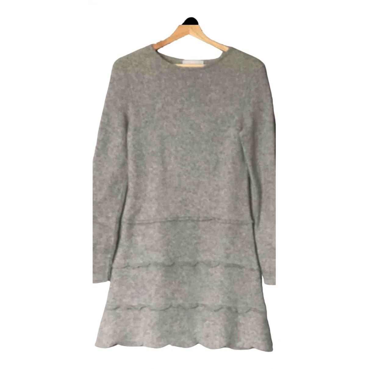 25 Luxury Street \N Kleid in  Grau Wolle