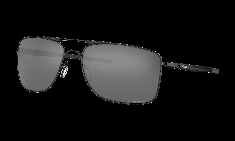 Oakley Mens Polished Black Gauge 8 Sunglasses
