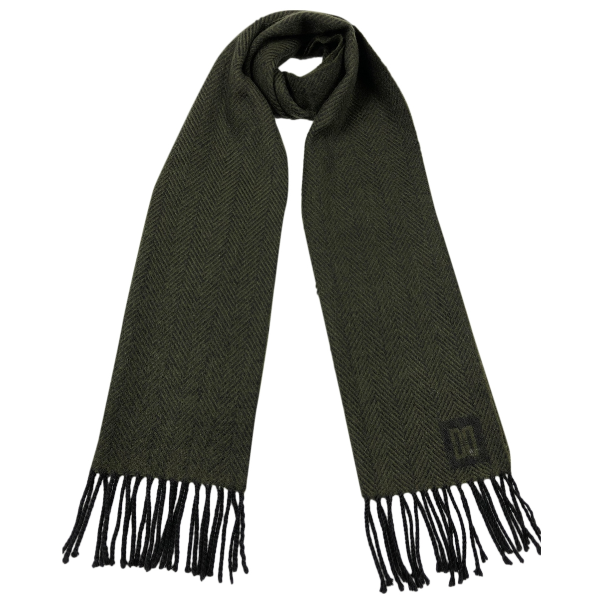 Daks \N Green Cashmere scarf & pocket squares for Men \N