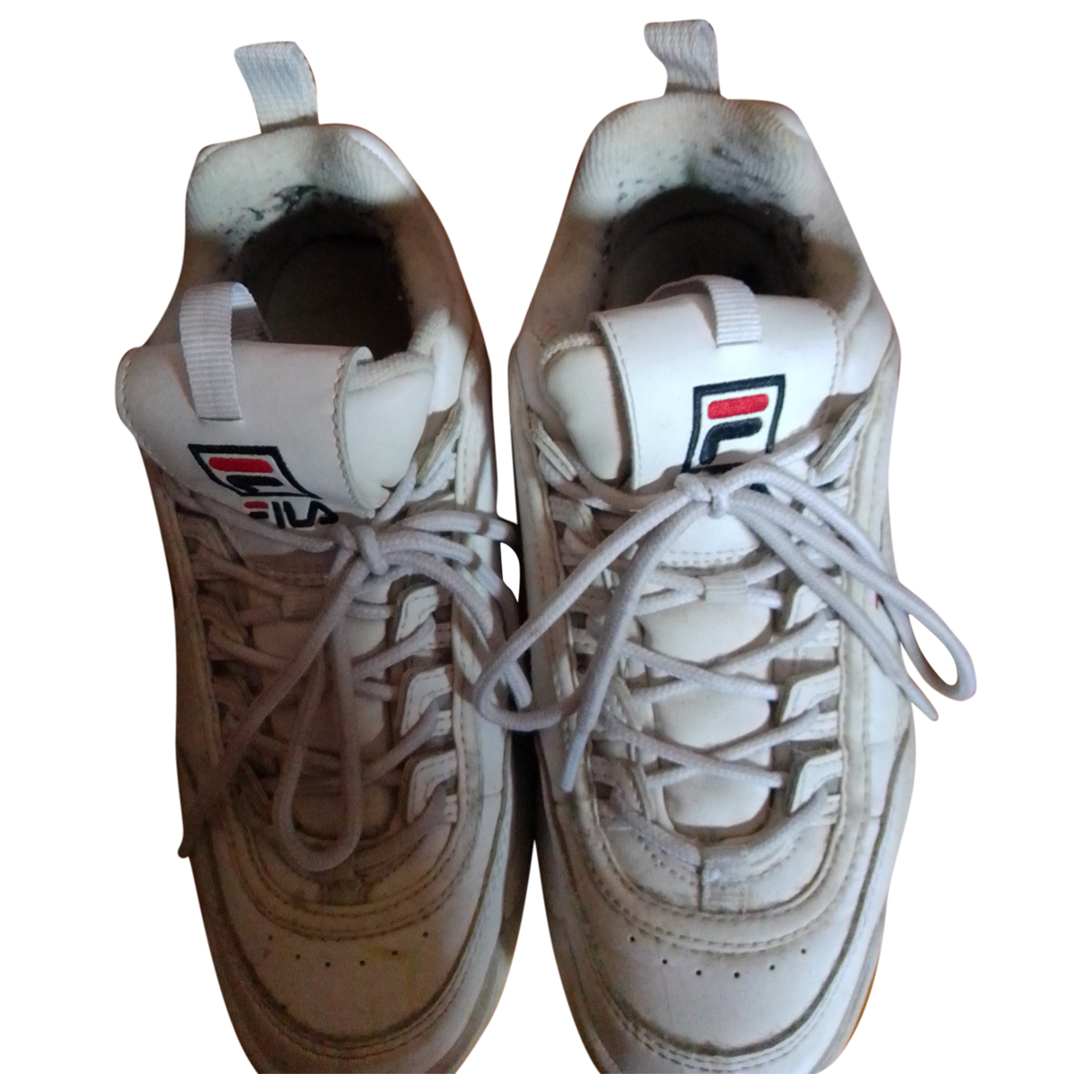 Fila \N White Rubber Trainers for Kids 38 FR