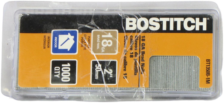 Bostitch 18 Ga Brad Nails Nail-In Hook BT1350B-1M