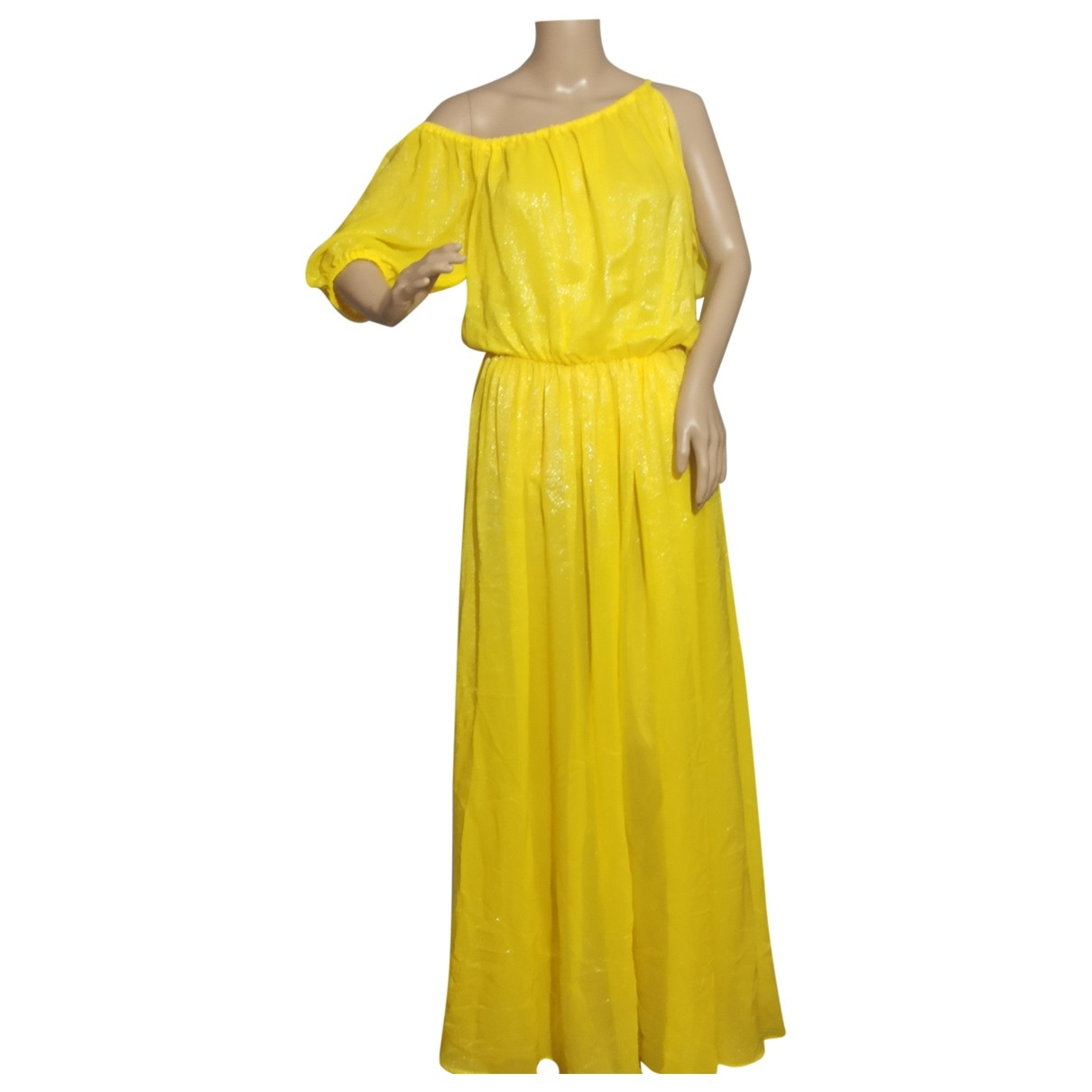Simona Corsellini \N Yellow dress for Women 42 IT