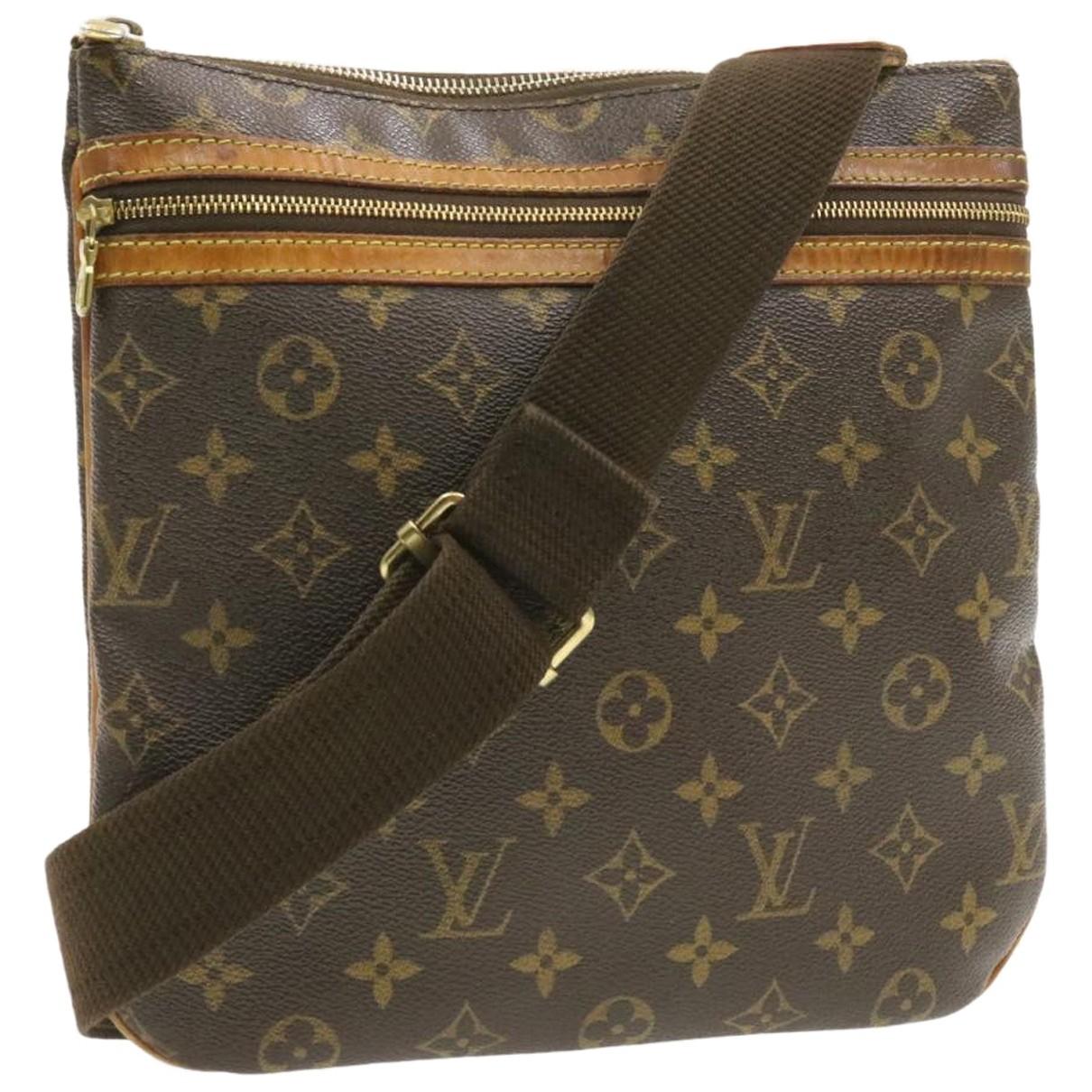Louis Vuitton - Sac a main Bosphore pour femme en toile - marron