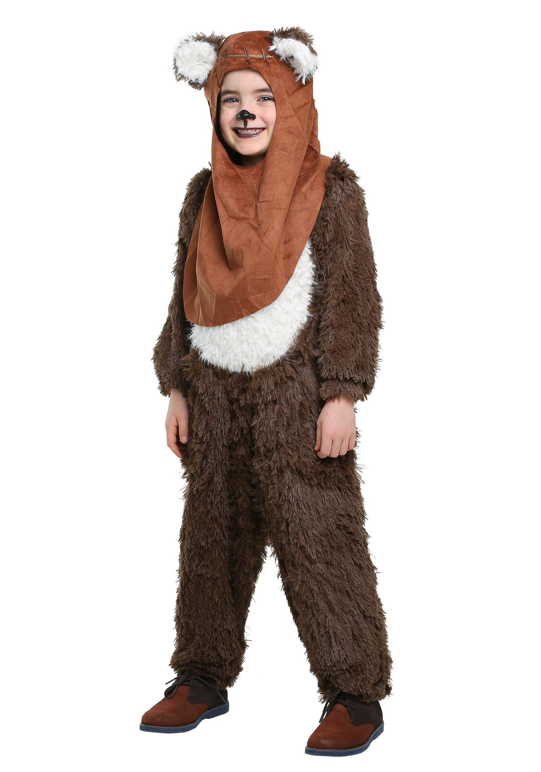 Deluxe Wicket/Ewok Costume for Kids   Warm Halloween Costume