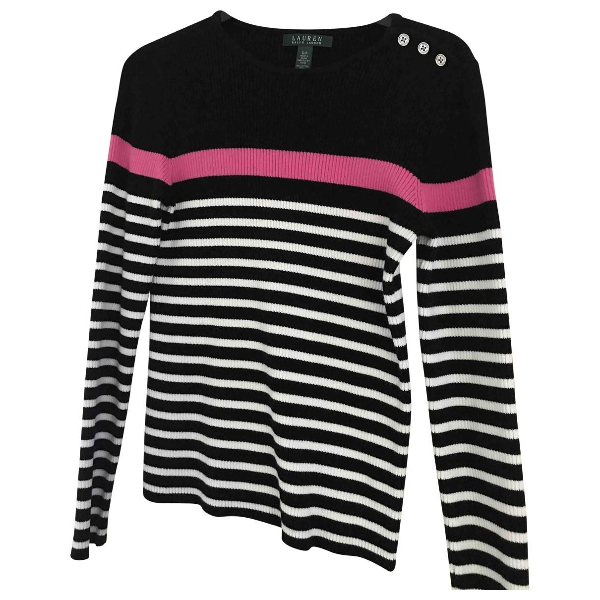 Lauren Ralph Lauren \N Black Cotton Knitwear for Women 8 UK