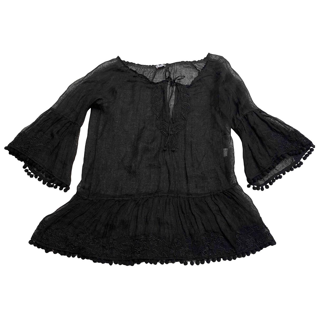 Emamo \N Black Linen dress for Women M International