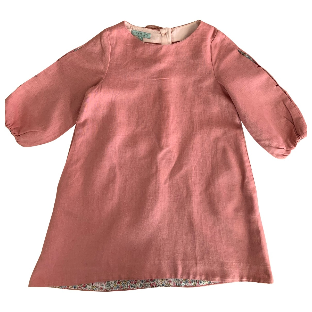 Non Signé / Unsigned \N Pink Cotton dress for Kids 6 years - up to 114cm FR