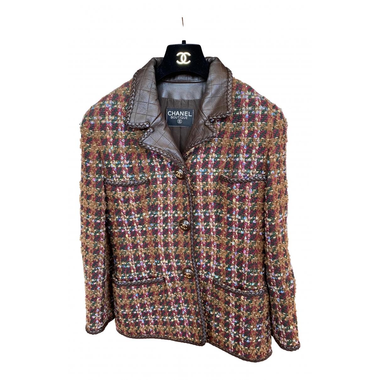 Chanel \N Multicolour Tweed jacket for Women 40 FR