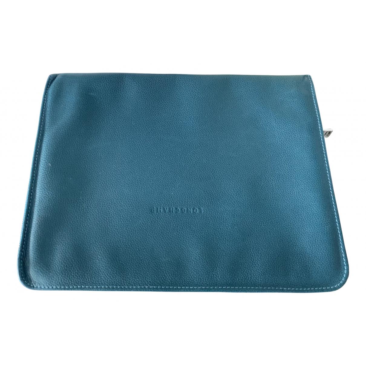 Longchamp - Accessoires   pour lifestyle en cuir - bleu