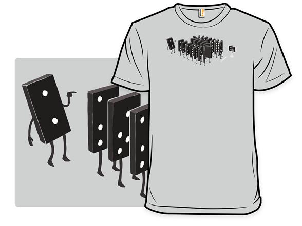 Domino Effect T Shirt