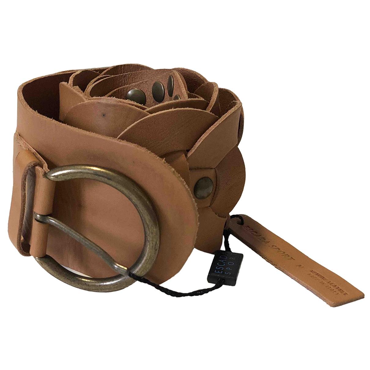 Cinturon de Cuero Escada