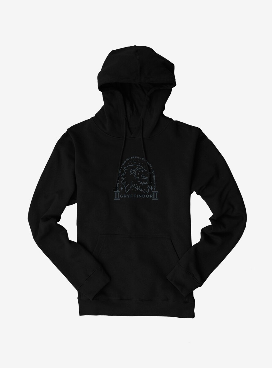 Harry Potter Gryffindor House Saying Hoodie