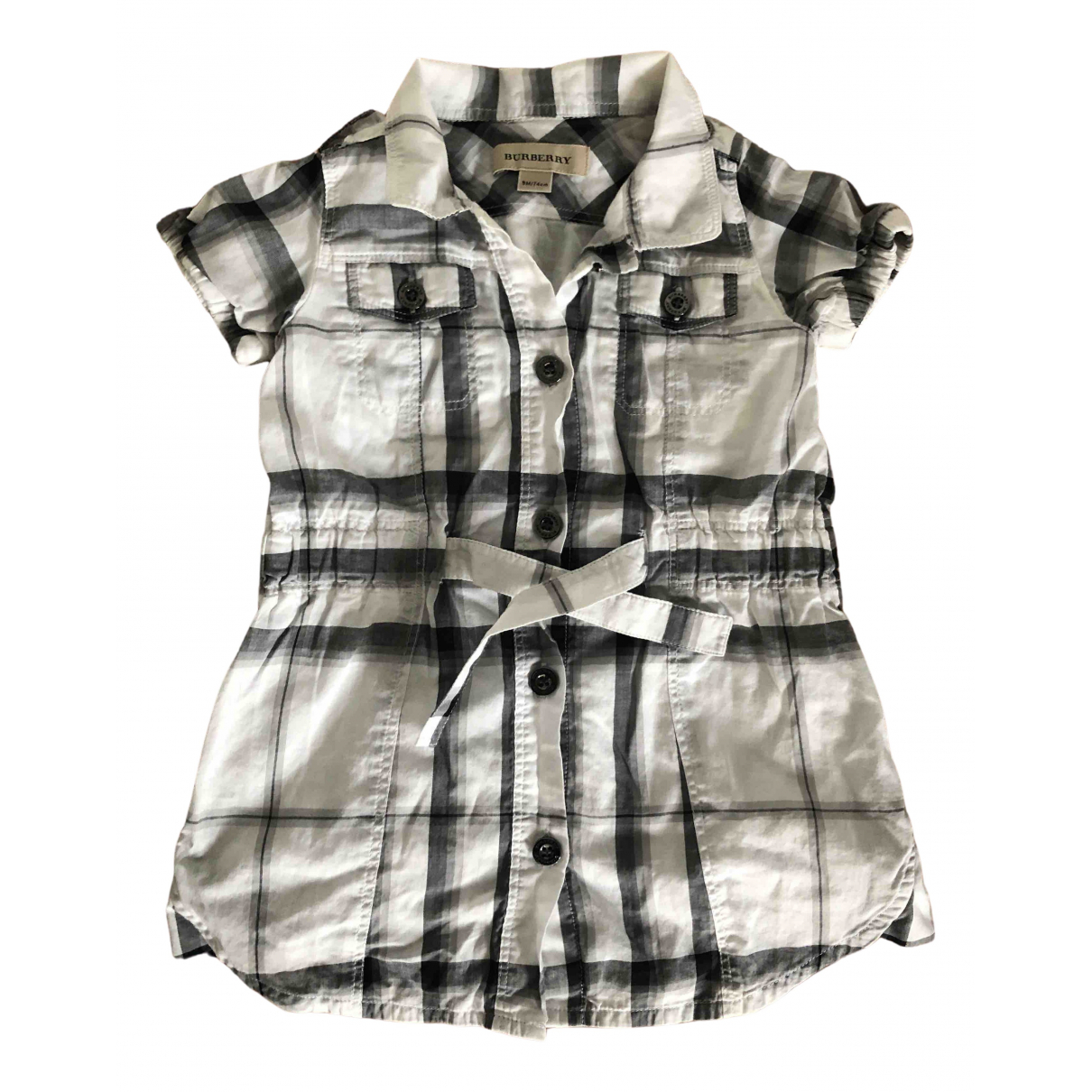 Burberry N White Cotton dress for Kids 9 months - up to 71cm FR