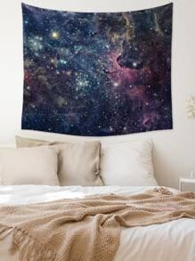 1pc Galaxy Print Tapestry
