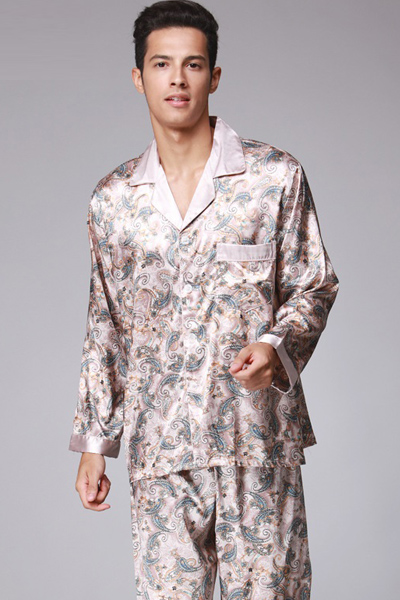 Men's Floral Luxury Style Design Comfortable Pajamas