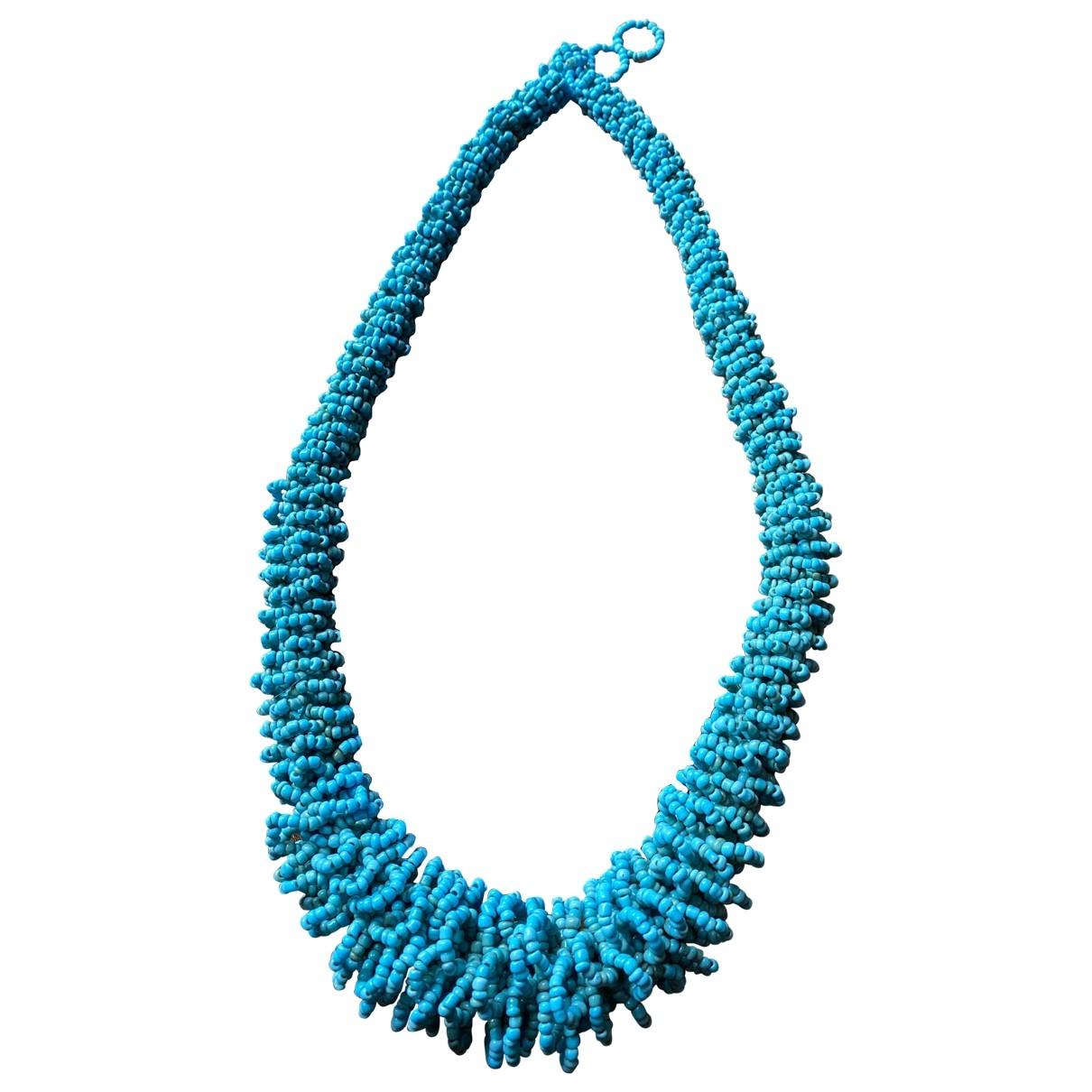 - Collier   pour femme - bleu