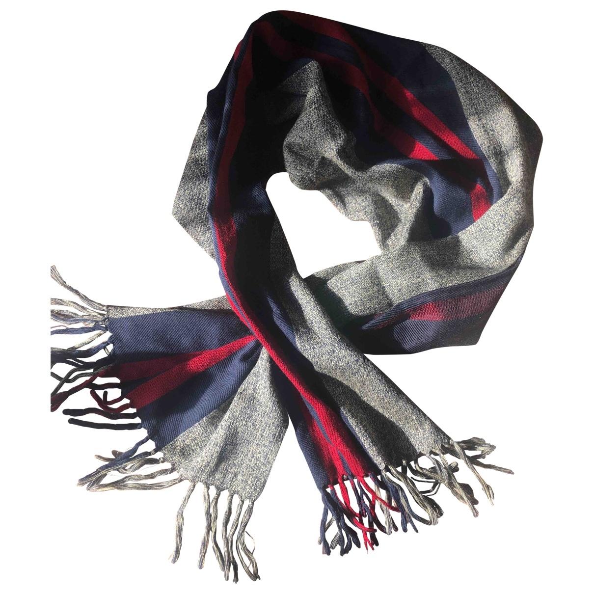 Etro \N Multicolour Wool scarf & pocket squares for Men \N