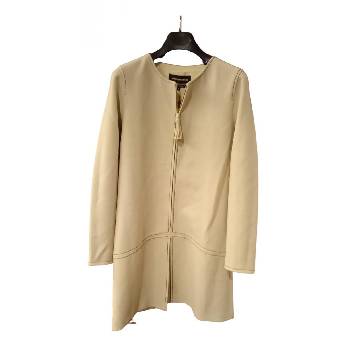Vanessa Seward \N Kleid in  Beige Wolle