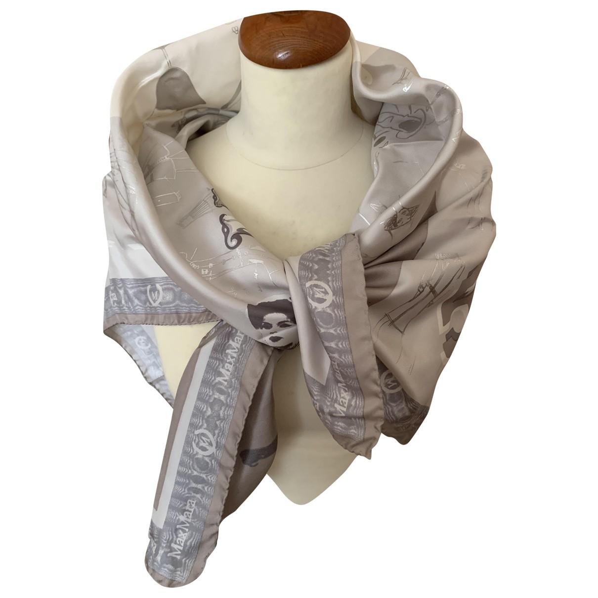 Max Mara N Grey Silk scarf for Women N