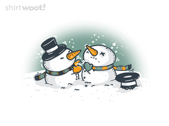 Snowball Fight T Shirt