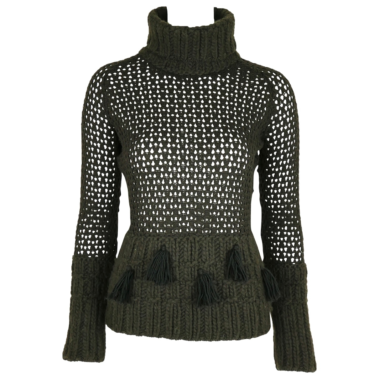 John Galliano \N Brown Wool Knitwear for Women M International