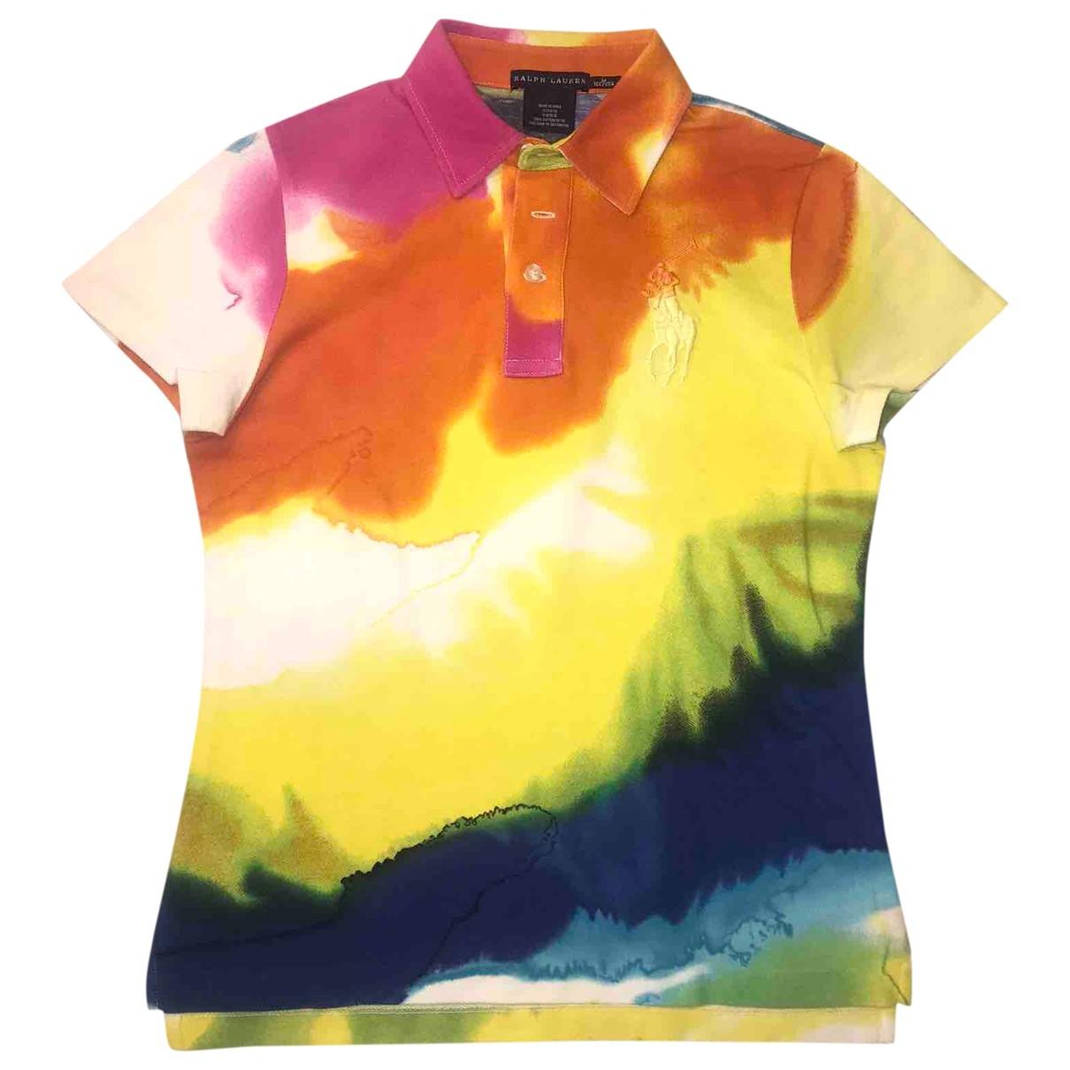 Ralph Lauren - Top   pour femme en coton - multicolore