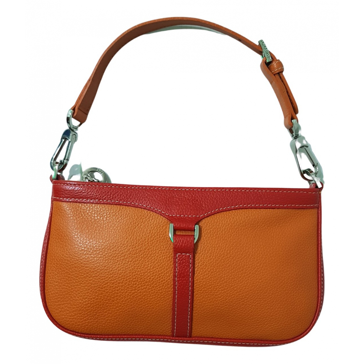 Longchamp N Orange Leather handbag for Women N