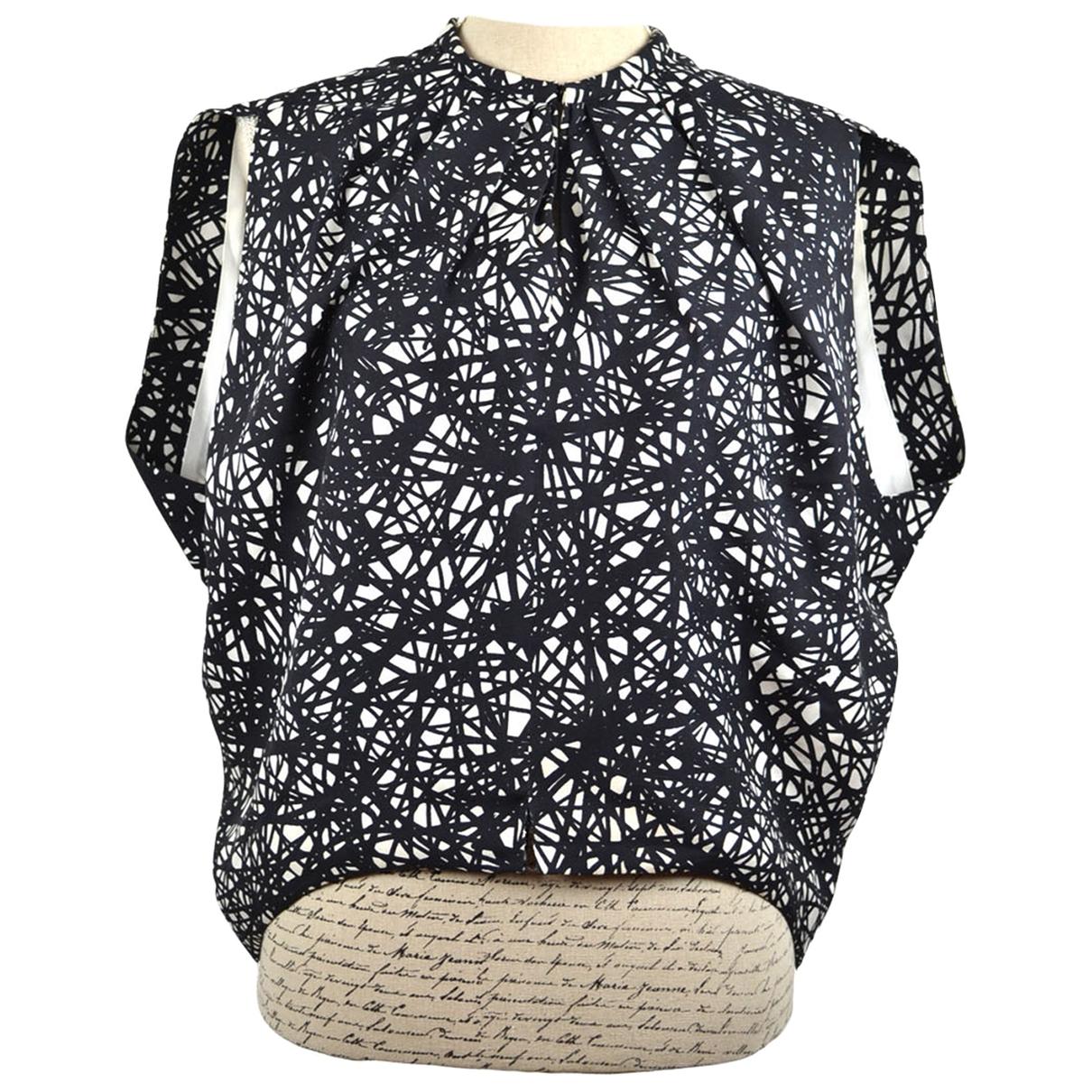 Blusa de Seda Balenciaga