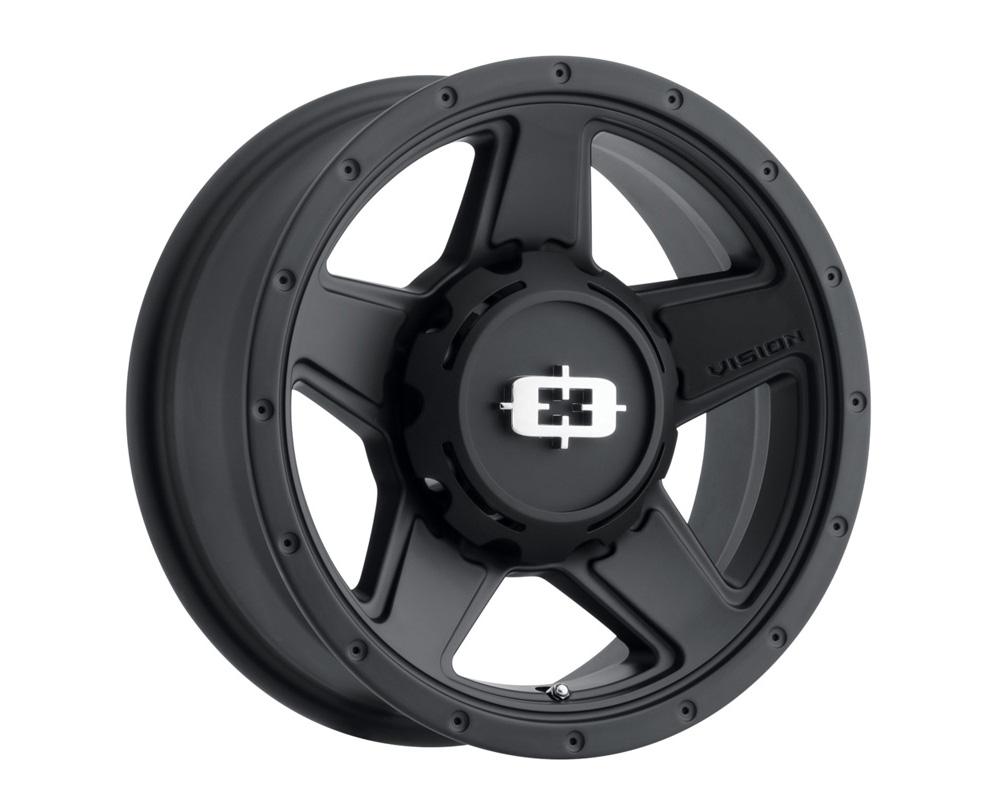 Vision Empire Satin Black Wheel 18x9 5x114.3 18