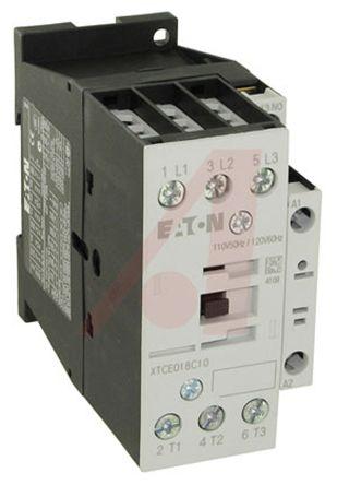 Eaton 3 Pole Contactor - 25 A, 24 V ac Coil, xStart, 3NO, 11 kW